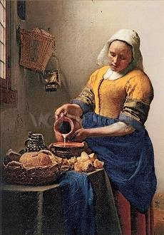 The Milkmaid (Detail)