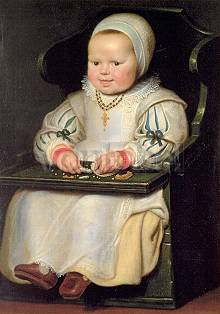 Portrait of Susanna de Vos, the artist's third daughter