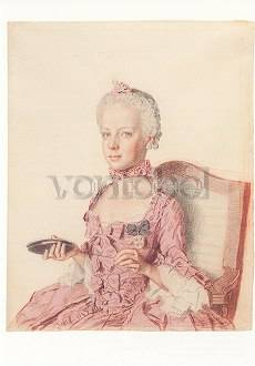 The Archduchess Marie-Antoinette